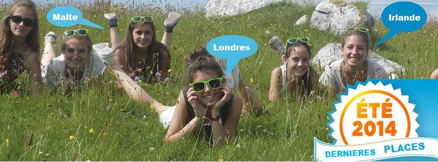 séjours de l'été 2014 : DERNIERES PLACES !