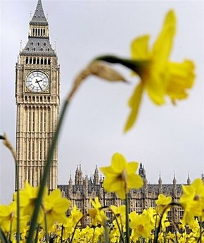 Séjour Londres à Pâques 2015