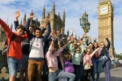Londres 17 Aout au 24 aout 2015