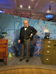 Churchill au Musée Madame Tussauds London