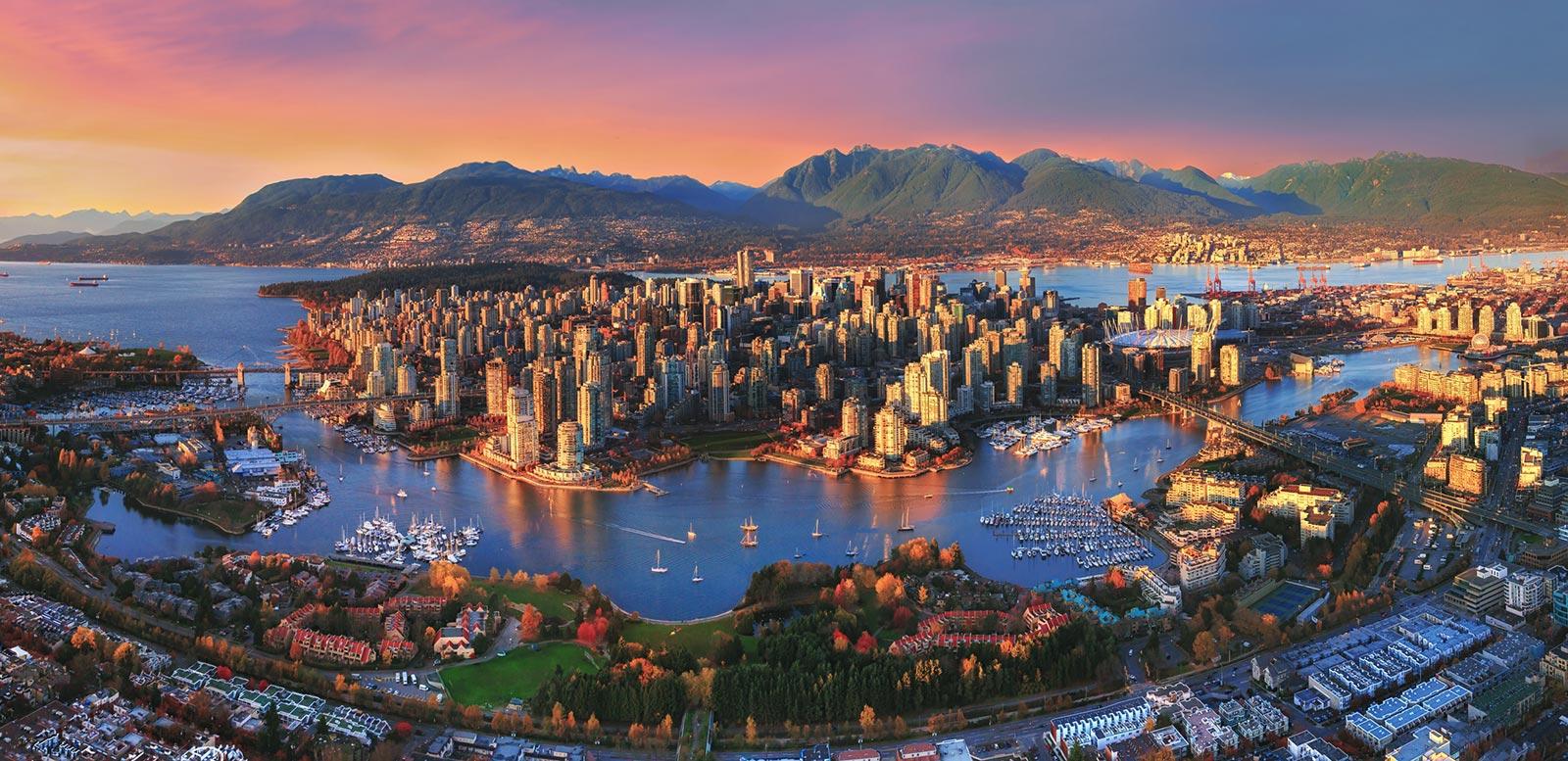 Vancouver en Colombie-Britannique.