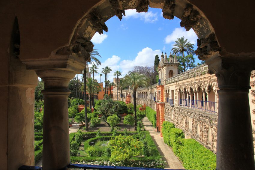 Alcázar, Séville, Espagne