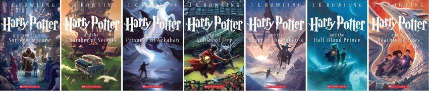 La saga Harry Potter de J. K. Rowling